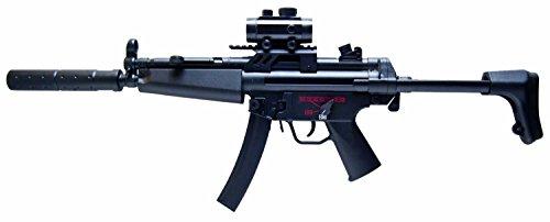 Nick and Ben GSG Softair-Gewehr Sturm-Gewehr schwarz 6 mm Federdruck unter 0,5 Joule ab 14 Jahre