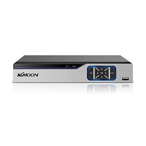 Entweg DVR, 8CH 1080P Voll-HDD-Hybrid-CCTV-Digitalvideorecorder DVR P2P-Fernüberwachungsbüro-Überwachungssystem Kit-Kamera (Keine Festplatte)