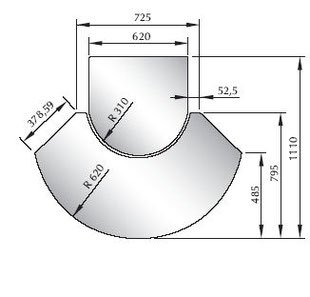 Glasbodenplatte Saisonplatte 2 teilig ESG-Glas 6 mm Modell 1 Funkenschutz Kamin Kaminofen