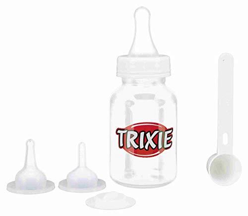 TRIXIE Suckling Bottle Set für Welpen und Kätzchen von kleinen, mittleren und großen Rassen