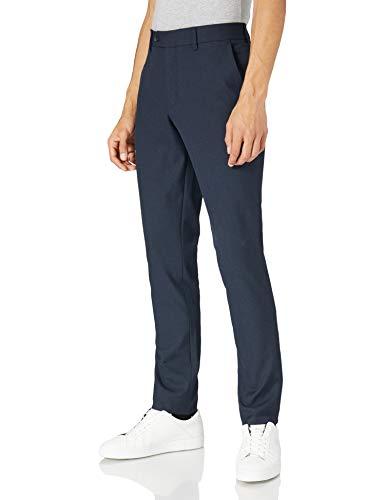 SELECTED HOMME SLHSLIM-Carlo Flex STRUC Pants B Pantaloni Eleganti, Blazer Blu Marine, 46 IT (32W/32L) Uomo