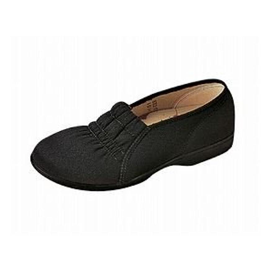 マイル甘やかす防ぐムーンスター らくらく L003 婦人用 /22.5cm Cブラック ファッション 靴 シューズ その他の靴 シューズ top1-ds-1446564-ah [簡素パッケージ品]