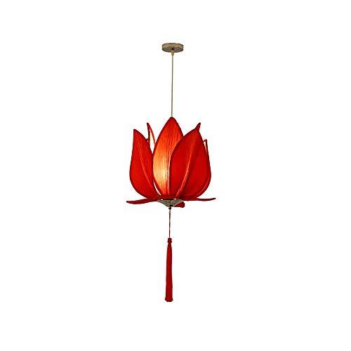 LSSB Araña Creativa China Pequeña araña de Restaurante Tetera Hot Pot Shop Cloth Lotus lámpara Antigua de Casa, Villa, Bar, Restaurantes