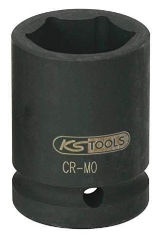 """KS Tools 515.1333 Llaves de vaso de impacto, pavonado (tamaño: hexagonal, 33 mm, 3/4""""), 33mm"""