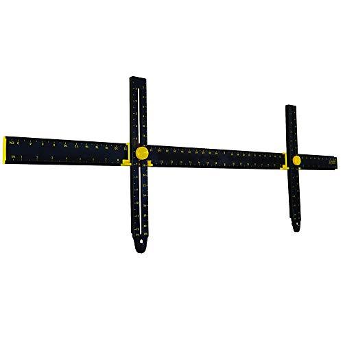 YANGMAN Picture Hanger Hanging Tool voor het markeren van positie en het meten van de ophanging en horizontale muur van het dak, Perfect om frames, kasten, planken en flatscreen tv's op te hangen