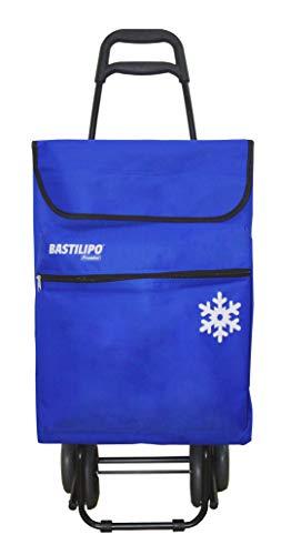 Bastilipo 7104 Julia Azul Eléctrico-Carro de la Compra de 4 50 litros...