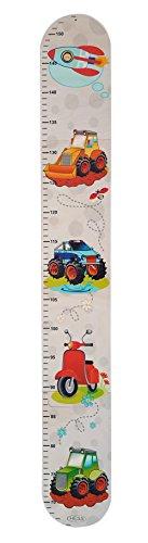 Hess 14601 - Messlatte Puzzle, aus Holz, Fahrzeuge