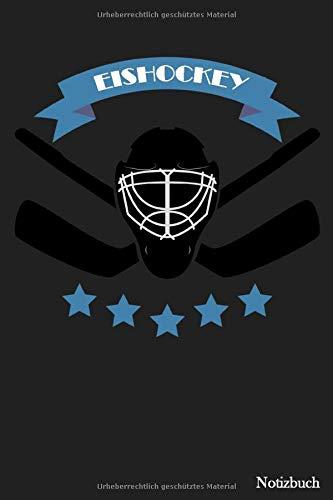 Notizbuch: Eishockey Notizbuch | Für Taktik, Strategie & Training | 105 gepunktete Seiten | Format ca. A5 |