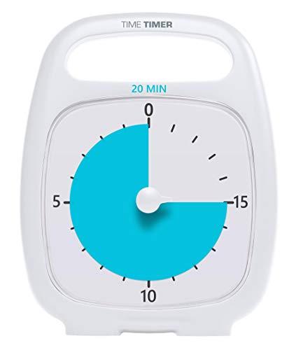 Time Timer TT20-W Mappen, Ordner & Zubehör   Weiß