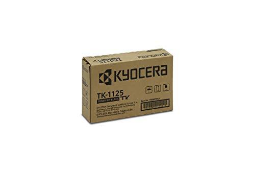 Kyocera TK-1125 Original Toner-Kartusche Schwarz 1T02M70NL1. Kompatibel für FS-1061DN, FS-1325MFP