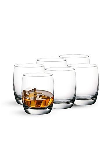Ocean Ivory Hi Ball Glass, Set of 6, 320ml, Transparent