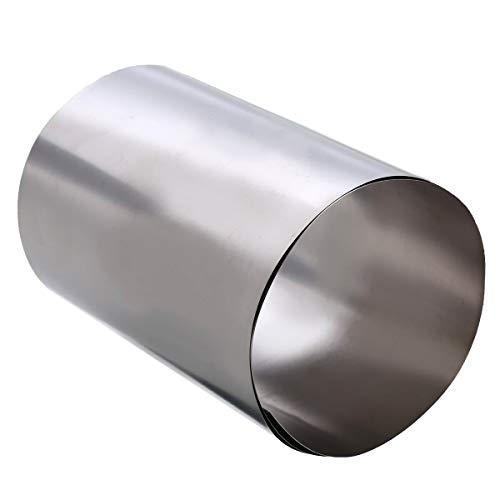 0.5 Meter Titanium folie 0.1x300mm Titan Band (Titan Gr 1 W.Nr 3.7025) Streifen Plate blech
