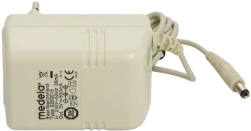 Medela 990033 - Adaptador/transformador de corriente para el extractor de leche Mini Electric de Medela