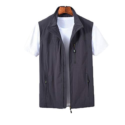 THBEIBEI outdoorjas, voor heren, met meerdere zakken, ademend, voor alle seizoenen, voor fotografie, jacht, kamperen