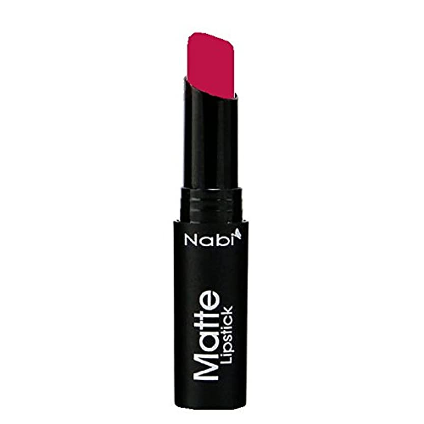 請求可能発掘するとにかく(6 Pack) Nabi Cosmetics Matte Lipstick - Matte Berry (並行輸入品)