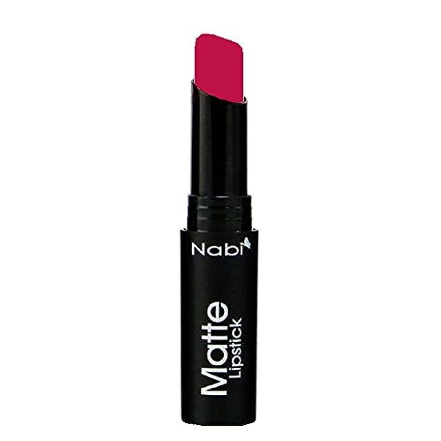拮抗せせらぎプレフィックス(6 Pack) Nabi Cosmetics Matte Lipstick - Matte Berry (並行輸入品)