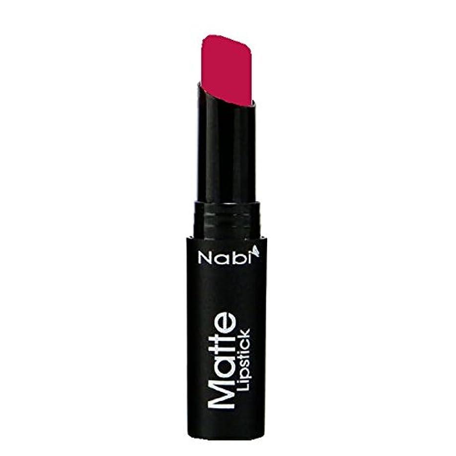 保全取得するフロント(6 Pack) Nabi Cosmetics Matte Lipstick - Matte Berry (並行輸入品)