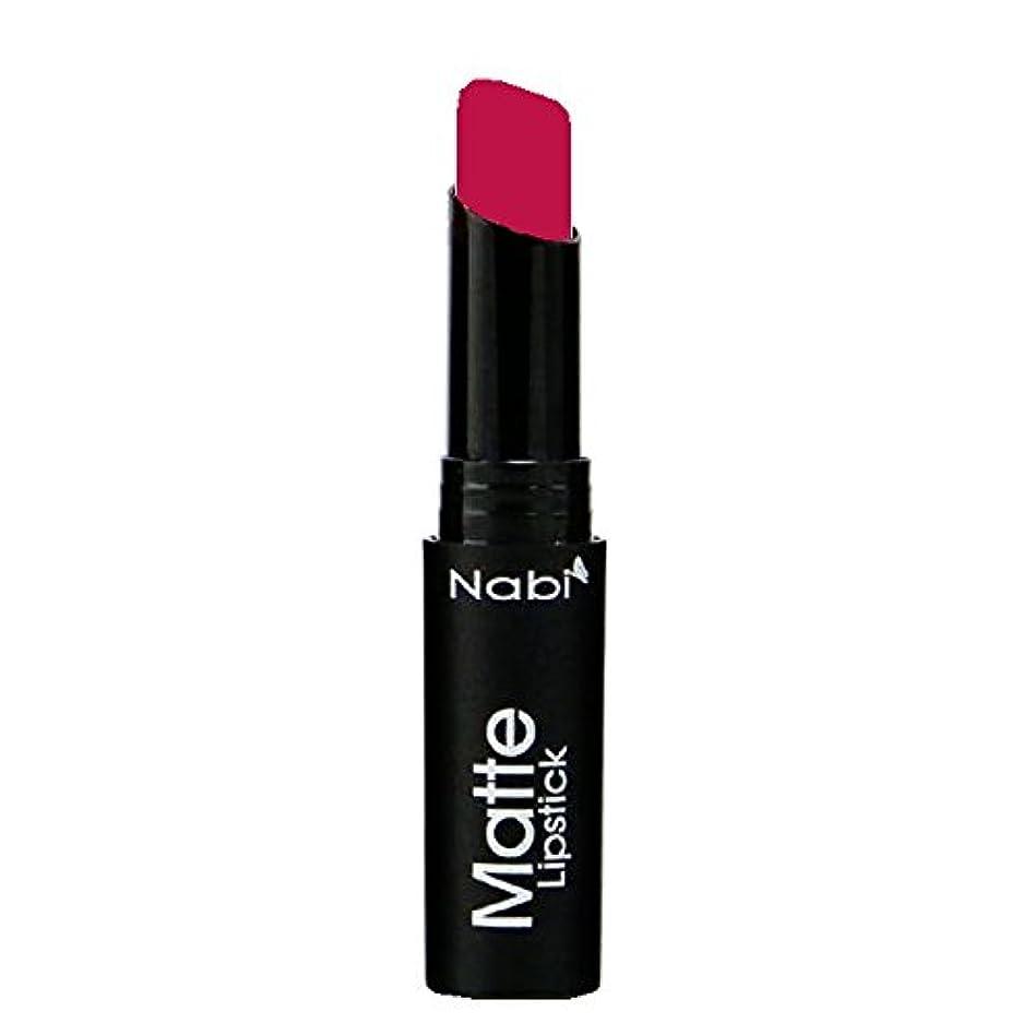 使い込む木製キラウエア山(6 Pack) Nabi Cosmetics Matte Lipstick - Matte Berry (並行輸入品)