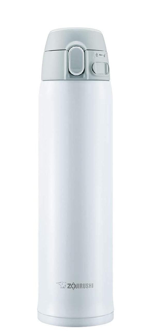 我慢する葉を集める恋人象印マホービン マグボトル ホワイト 600ml SM-TA60-WA