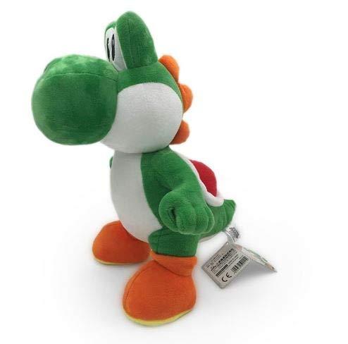 FoPcc Peluche Algodón de Super Mario Bros Personaje de Yoshi Anime 35cm Juguete niños