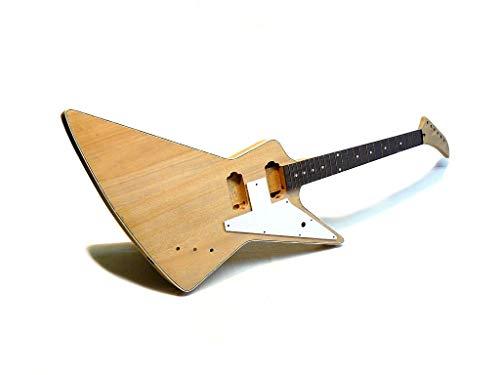 Guitarra Eléctrica/Guitar DIY Kit ML-Factory® Explorer-Style Deluxe Custom Mahogany