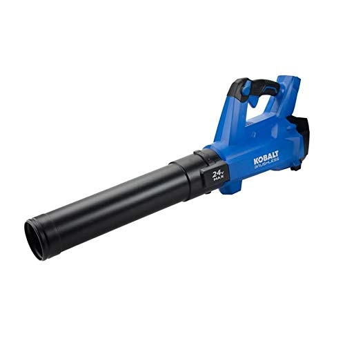 Kobalt 24-Volt Lithium Ion 410-CFM 100-MPH Brushless Cordless Electric Leaf Blower (Battery Not Included)