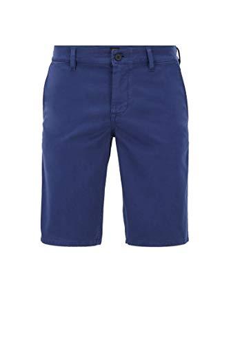 BOSS Schino-Slim Shorts Pantalones Cortos, Azul (Navy 411), 40 (Talla del Fabricante: 38) para Hombre