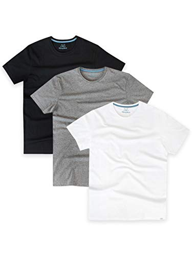 Harry Bear Camiseta Paquete de 3 para Hombre Multicolor Talla Medium