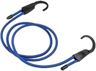 TT WARE Elastic Bungee Shock Cord Strap Camping Stretch Plastic Hook Car Luggage Tent Kayak Rope Tie-Blue