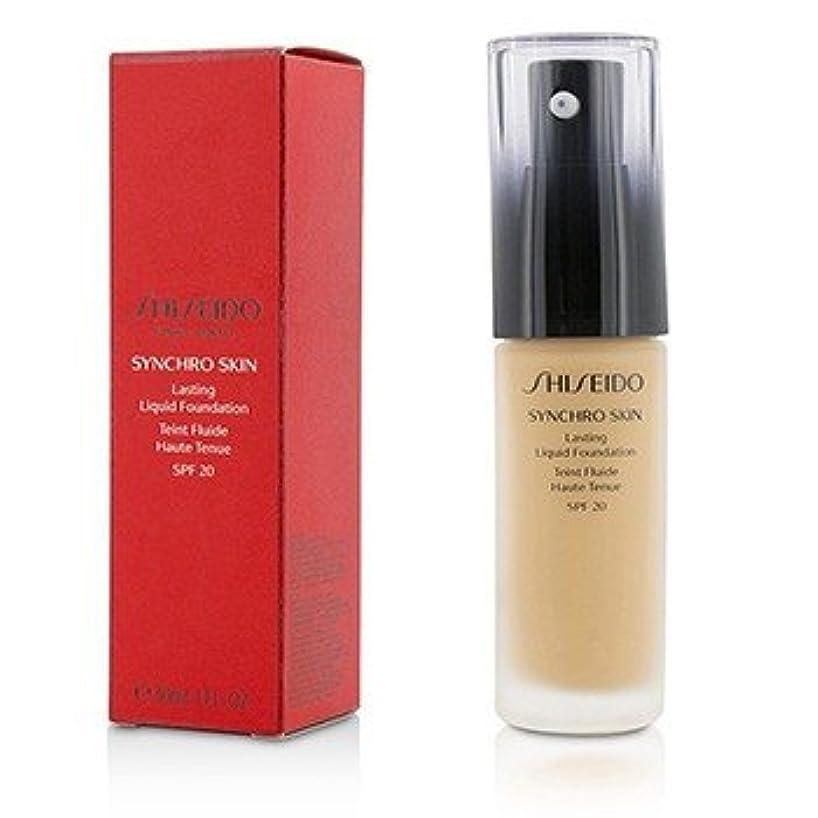 ブロックするバルブレギュラー[Shiseido] Synchro Skin Lasting Liquid Foundation SPF 20 - Rose 4 30ml/1oz