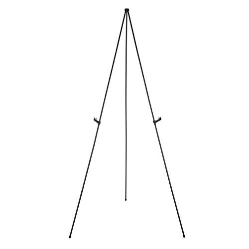 Amazon Basics Instant Adjustable Collapsible Artist Easel, Tripod, Supports 5 Pounds