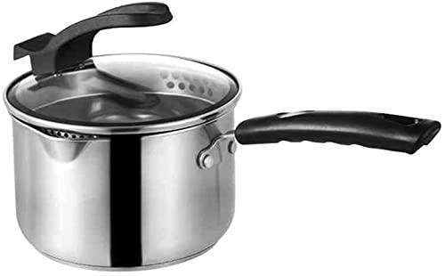 Kokkärl Soppkruka Grunt grytpanna Soppkruka i rostfritt stål med härdat glaslock, induktionskruka, ugnssäker, lämplig för alla typer av spis