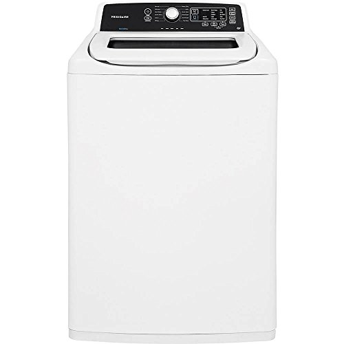Top Load Washer, White, 44-1/4' H