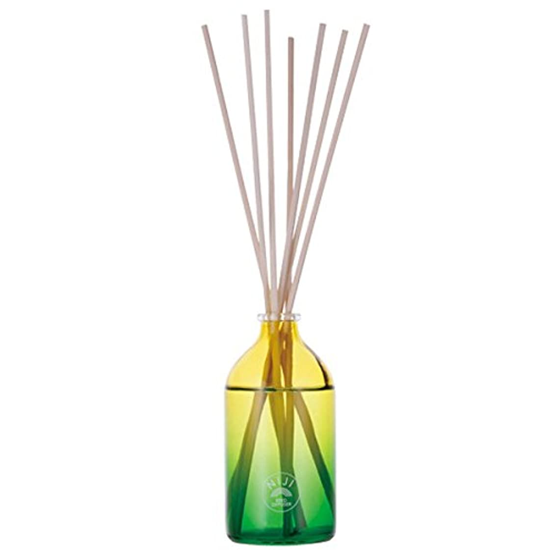 拾うペデスタル郵便大香 NIJI reed diffuser Green flash 100ml