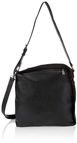 Fritzi aus Preussen Damen Gwen medium Hobo Schultertasche, Black, One Size