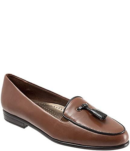 [トロッターズ] シューズ 23.0 cm パンプス Leana Tassel Block Heel Loafers Cognac レディース [並行輸入品]