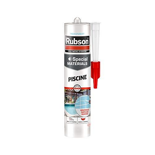 Rubson 1915872 - Mastice estremo per piscina, cartuccia da 280 ml, trasparente