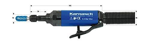 Karnasch KARNASCH Meuleuse droite professionnelle à air comprimé, 4-8mm, bleu, 1