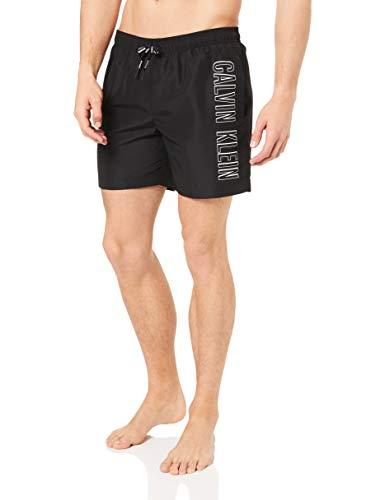 Calvin Klein Medium Drawstring Pantalones Cortos, Negro (Pvh Black Beh), Large (Pack...