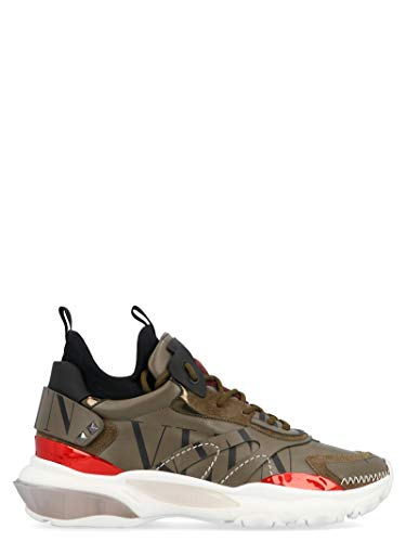 Valentino Luxury Fashion Herren RY0S0B39SHGVJ7 Grün Sneakers | Jahreszeit Permanent