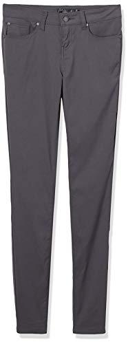 prAna Women's Standard Briann Pant-Regular Inseam, Coal, 6