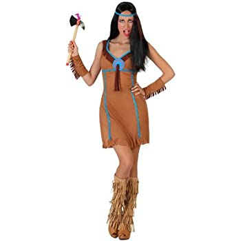 Atosa - Disfraz de indio para mujer, talla XS (18328): Amazon.es ...