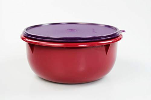 Tupperware Rührschüssel Peng 3,0 L Bordeaux/lila Hefeteig B11 Schüssel Germteig 35569