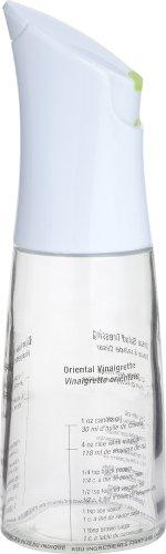 Trudeau 0718055 Dressing Shaker avec 2 Ouvertures de déversement, Verre/Plastique, Multicolore, 20x15x5 cm