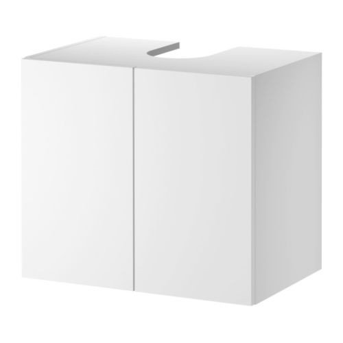 IKEA LILLÅNGEN Waschbeckenunterschrank mit 2 Türen; in weiß