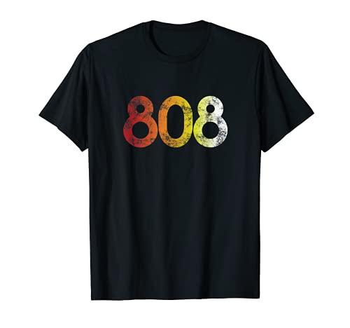 808 Retro Style Roland Electronic Drum Machine Shirt