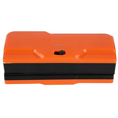 Omabeta Práctico Limpiador de Ventana Ajustable Limpiador de Ventana Limpiador de Vidrio magnético magnético Accesorio de Limpieza de Ventana(Orange)