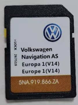 SD Karte GPS Europa 2021 - Navigation AS MIB2 - VW Discover Media 2 MIB2 - v14-5NA919866ZA