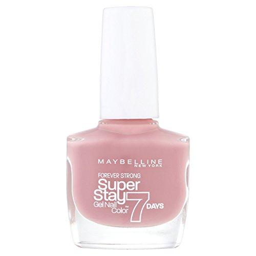 Maybelline New York - Superstay 7 Días, Esmalte de Uñas Efecto Gel, Tono 130 Rose Poudre