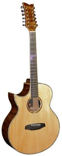 Ortega OPAL-4012CEL Akustikgitarre MJ Lefthand, 12-Saiter, Ortega